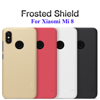 Frosted Shield Hard Back Case for Xiaomi Mi 8