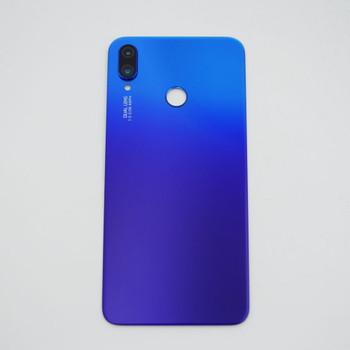 Huawei Nova 3i Back Glass with Camera Lens Blue   Parts4Repair.com