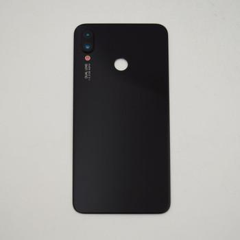 Huawei Nova 3i Back Glass with Camera Lens Black   Parts4Repair.com