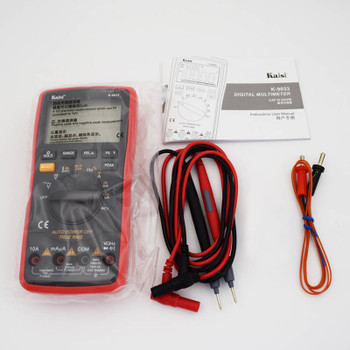 Kaisi Digital Multimeter True RMS Capacitor Temperature Measurement