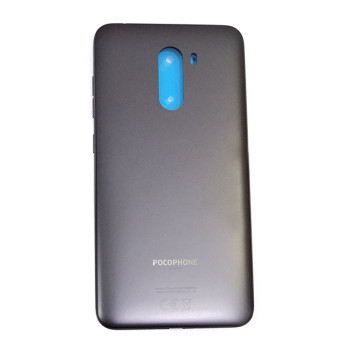 Xiaomi Pocophone F1 Back Cover with Side Keys Black