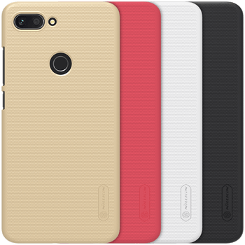 Frosted Shield Hard Back Case for Xiaomi Mi 8 Lite