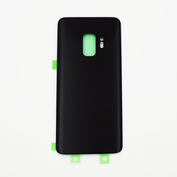 Samsung Galaxy S9 Back Glass Cover with Adhesive Black