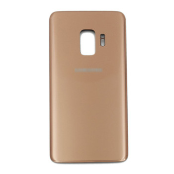 Samsung Galaxy S9 Back Glass Cover with Adhesive Gold