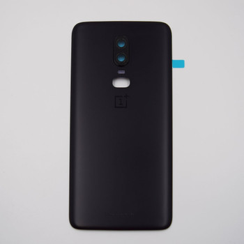 Oneplus 6 Back Housing Cover Midnight Black | Parts4Repair.com