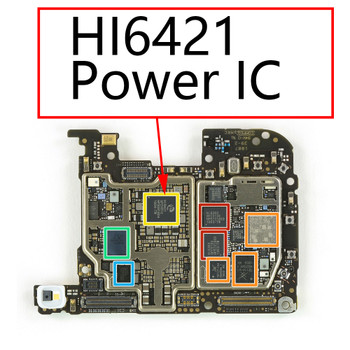 Huawei P20 Pro Power Management IC HI6421 from www.parts4repair.com