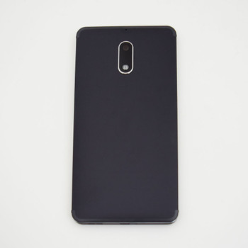 Nokia 6 Back Housing Cover with Side Keys -Black