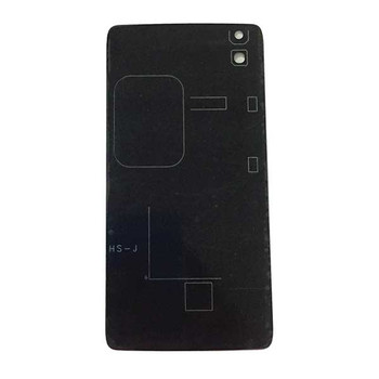 Back Glass Cover for Alcatel Idol 4 OT6055K -Black