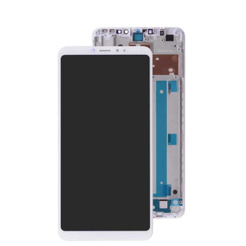 Xiaomi Mi Max 3 LCD Screen and Digitizer Assembly with Frame White   Parts4Repair.com