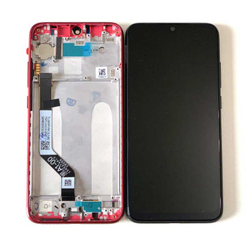 Xiaomi Redmi Note 7 Note 7 Pro LCD Screen and Digitizer Assembly with Frame Red | Parts4Repair.com