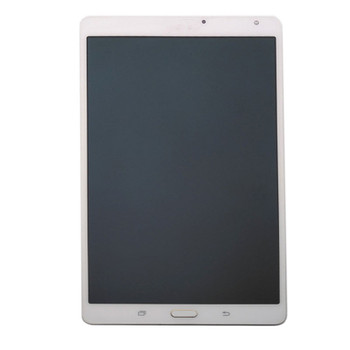 Samsung T700 Complete Screen Assembly with Frame White | Parts4Repair.com