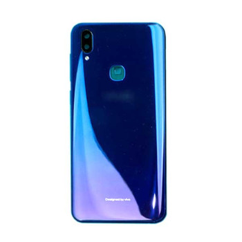 Vivo Z3 Back Cover with Side Keys Aurora Blue | Parts4Repair.com