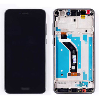 Huawei P8 Lite 2017 Screen Assembly with Frame Black | Parts4Repair.com