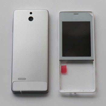 Nokia 515 Full Husing Cover Silver | Parts4Repair.com