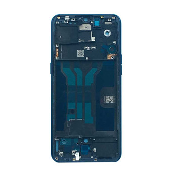 Oppo R17 Middle Housing Cover with Side Keys Ambient Blue | Parts4Repair.com