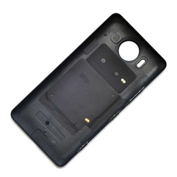 Microsoft Lumia 950 Back Housing Cover with NFC QI Coil Black | Parts4Repair.com