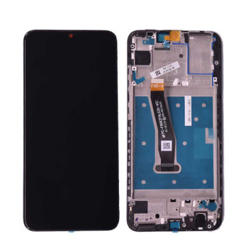 Huawei P Smart 2019 LCD Screen Digitizer Assembly with Frame from www.parts4repair.com