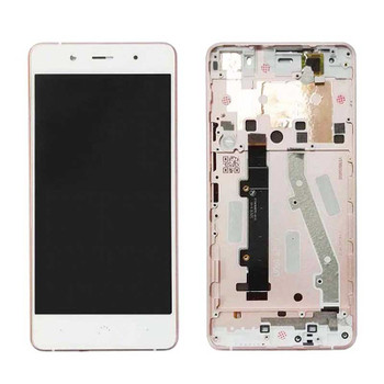 BQ Aquaris X5 Plus Screen Assembly with Frame White | Parts4Repair.com