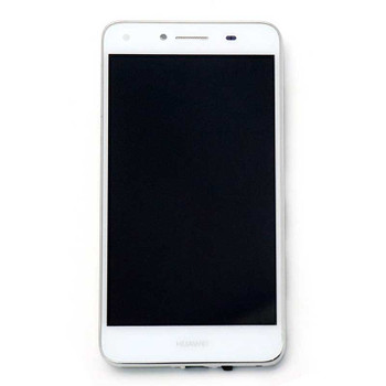 Huawei Y5 II 4G LCD Screen Digitizer Assembly with Frame White | Parts4Repair.com
