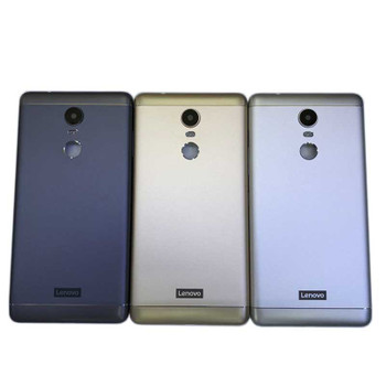 Lenovo K6 Note Back Housing Cover witout Side Keys Silver | Parts4Repair.com