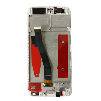 Complete Screen Assembly with Frame for Huawei P10 White | Parts4Repair.com