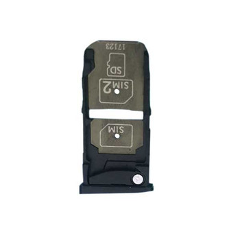 Motorola Moto Z XT1650 Dual SIM Tray Black | Parts4Repair.com