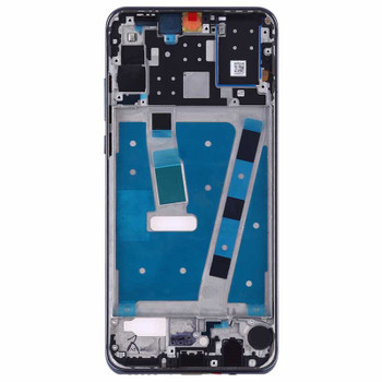 Huawei P30 Lite Nova 4e Middle Frame with Side Keys Blue | Parts4Repair.com
