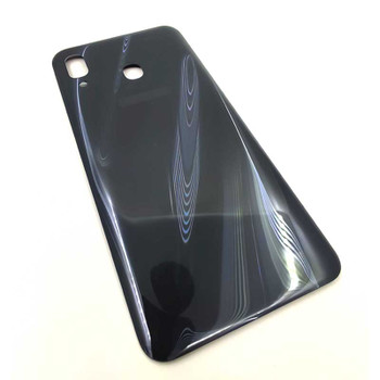Samsung Galaxy A30 A305 Back Housing Cover Black   Parts4Repair.com