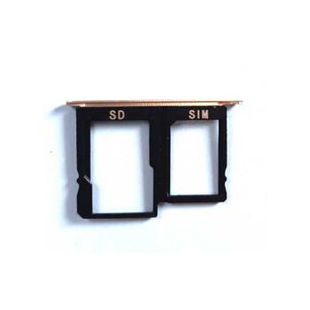 """Huawei Mediapad M5 Lite 10.1"""" 4G Version SIM Tray Gold   Parts4Repair.com"""