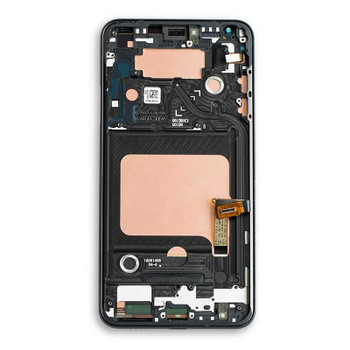 LG V40 ThinQ LCD Screen Digitizer Assembly with Frame | Parts4Repair.com