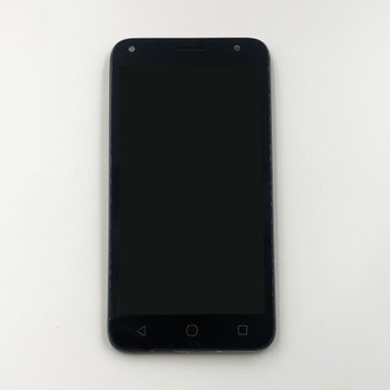 Alcatel Pixi 4 (5) 5010 LCD Screen Assembly with Frame Black | Parts4Repair.com
