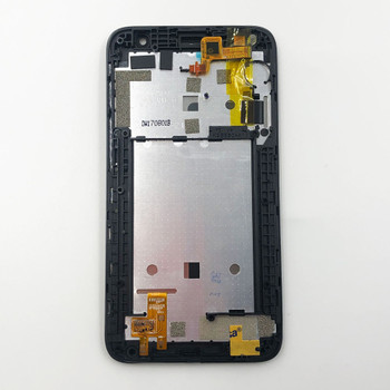 Alcatel Pixi 4 (5) 5010 LCD Screen Assembly with Frame Black   Parts4Repair.com