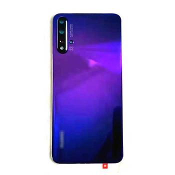 Huawei Nova 5 Nova5 Pro Back Glass with Camera Lens Purple   Parts4Repair.com