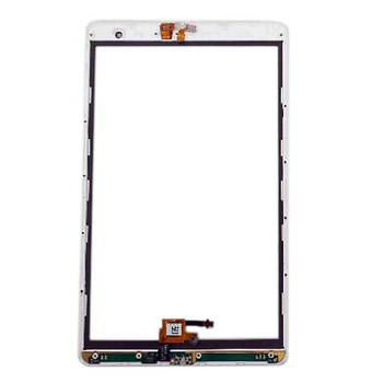 Vodafone Tab Prime 6 LTE VF1497 Touch Screen Digitizer with Bezel White   Parts4Repair.com