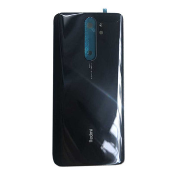 Xiaomi Redmi Note 8 Pro Back Cover with Adhesive Black | Parts4Repair.com