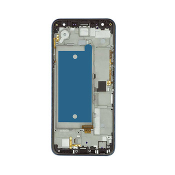 LG K40 K12+ LCD Screen Digitizer Assembly with Frame Single SIM Blue from Parts4Repair.com