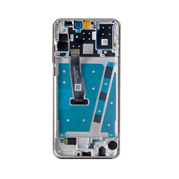 Huawei P30 Lite Nova 4e LCD Screen Digitizer Assembly with Frame Silver