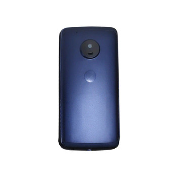 Back Housing Cover for Motorola Moto G5 Plus Blue | Parts4Repair.com