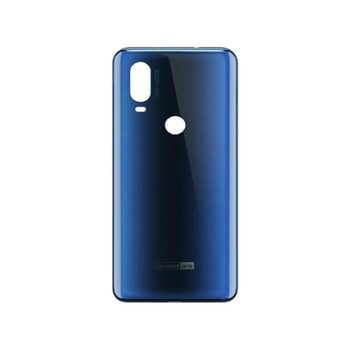 Motorola One Vision P50 XT1970 Back Cover Blue | Parts4Repair.com