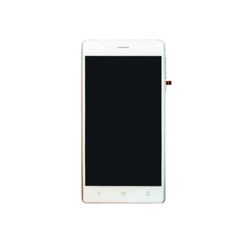 Complete Screen Assembly with Frame for Nokia 3 White | Parts4Repair.com