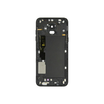 Samsung Galaxy A6 2018 Back Housing Cover with Camera Lens Black | Parts4Repair.com