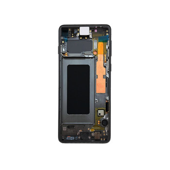 Samsung Galaxy S10 LCD Screen Digitizer Assembly with Frame Black | Parts4Repair.com