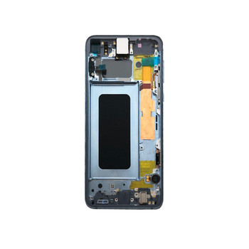 Samsung Galaxy S10 LCD Screen Digitizer Assembly with Frame Blue | Parts4Repair.com