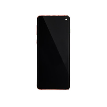 Samsung Galaxy S10 LCD Screen Digitizer Assembly with Frame Pink | Parts4Repair.com