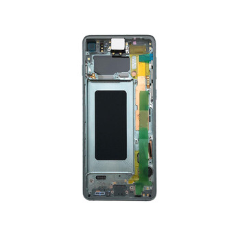 Samsung Galaxy S10 LCD Screen Digitizer Assembly with Frame Green | Parts4Repair.com