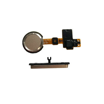 Volume Button and Fingerprint Sensor Flex Cable for LG G5  Gold | Parts4Repair.com
