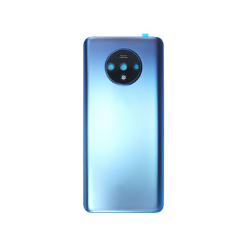 Oneplus 7T Back Glass Cover with Camera Lens Blue | Parts4Repair.com