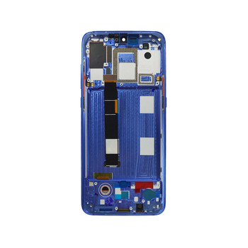 Xiaomi Mi 9 LCD Screen Digitizer Assembly with Frame Blue | Parts4Repair.com