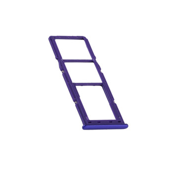 Back Side of Samsung Galaxy A30s SIM Card Holder Color Purple | Parts4Repair.com