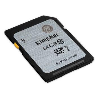 Kingston 64GB SDHC Class 10 Memory Card 80MB/S